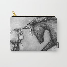 Enchantment of the Unicorn Carry-All Pouch