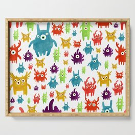Cute little creatures Serving Tray