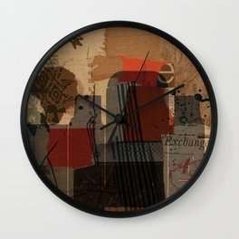 unfolded 21 Wall Clock