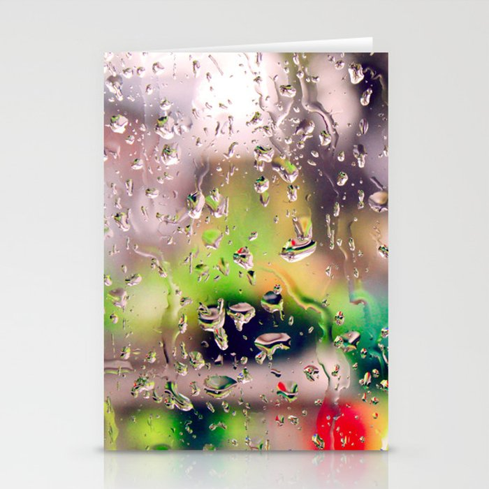 Rainy day! Stationery Cards