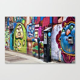 Street Art Canvas Print