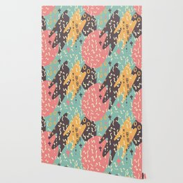Squiggle Seamless Background Wallpaper