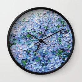 Nantucket Blues Wall Clock