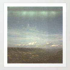 Landscape on Film Art Print