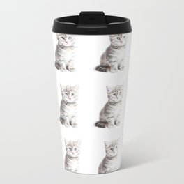 Kittens Forever Metal Travel Mug
