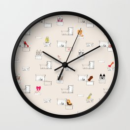 Shoe-Box Wall Clock