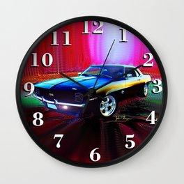 69 Camaro SS 396 Wall Clock