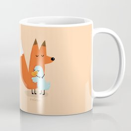 Fox & Duck - I Accept Our Differences Coffee Mug