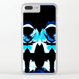 Time Travelers In Abstract Clear iPhone Case