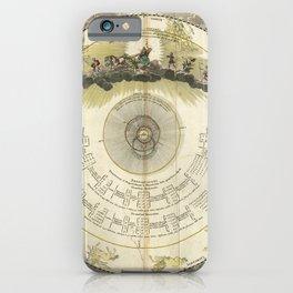 Constellations Diagram (1716) [Systema mundi Tychonicum] iPhone Case
