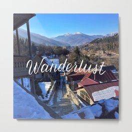 Wanderlust // #TravelSeries Metal Print