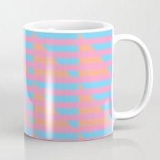 Pink Blue Peach Houndstooth /// www.pencilmeinstationery.com Mug