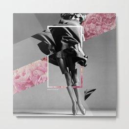 Vintage Collage Metal Print
