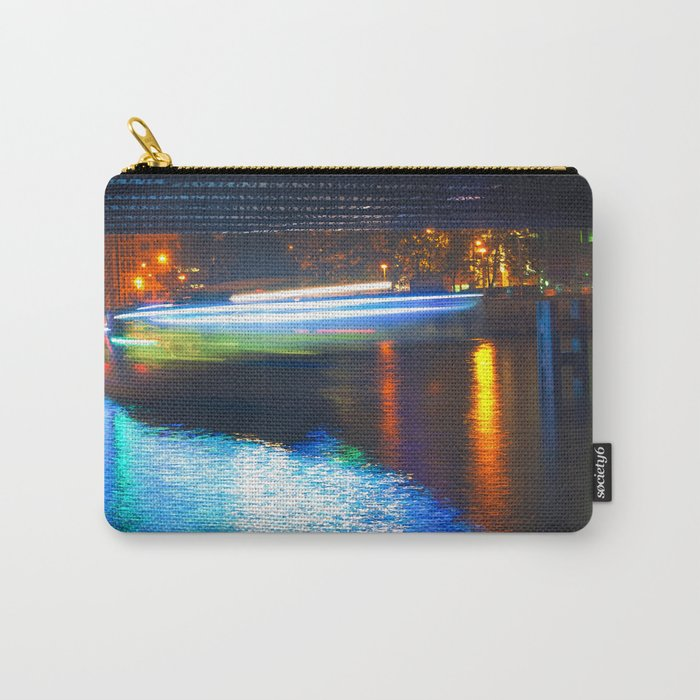 Floating Aqua Lighting Carry-All Pouch