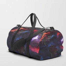 Beauty of Pollution / Aerosol Earth - Western Part Duffle Bag