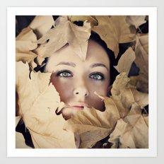 Welcome autumn Art Print