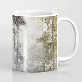 Wet Morning in the Forest Coffee Mug
