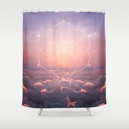 The Sun is but a Morning Star Shower Curtain