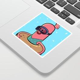 Ready for a Swim Sticker