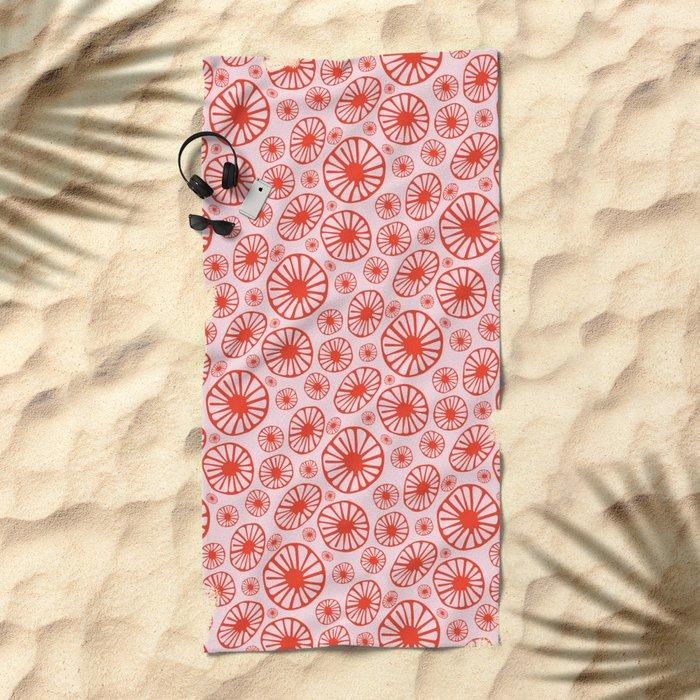 Little Cherry Blossom Beach Towel