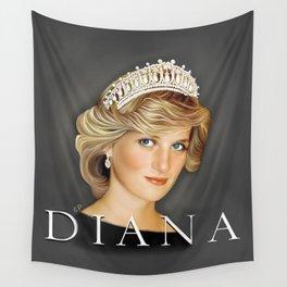 PRINCESS DIANA Wall Tapestry