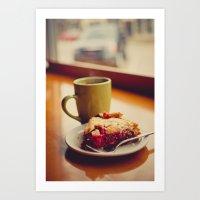 pie Art Prints featuring Pie by Jo Bekah Photography