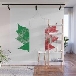 Italy/Canada Wall Mural