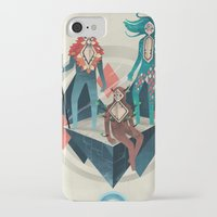 guardians iPhone & iPod Cases featuring The Guardians by Reno Nogaj