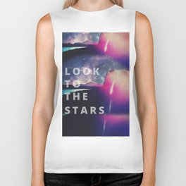 Look To The Stars Biker Tank