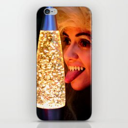 From A Proud Vampire Lineage of Qualified Lava Lamp Inspectors iPhone Skin