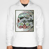 psychadelic Hoodies featuring Psychadelic Storm Trooper by Just Bailey Designs .com