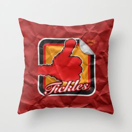 Tickles Throw Pillow