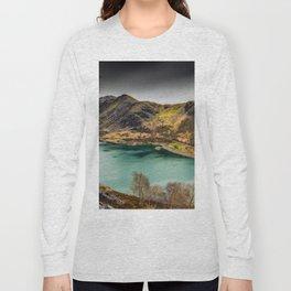 Llyn Peris Snowdonia Long Sleeve T-shirt