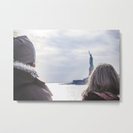Liberty Statue Metal Print