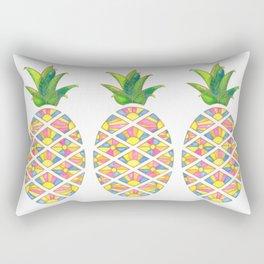 Pineapple Sunrise Rectangular Pillow