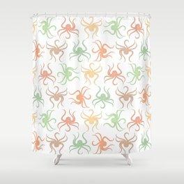 Cute Octopus Pattern Shower Curtain