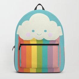 Proud rainbow cloud Backpack