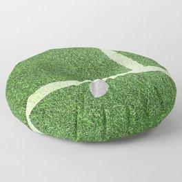 """""""IN"""" – Hawk-Eye - green Floor Pillow"""