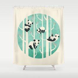 Lazy Sunday Shower Curtain