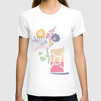 pocket fuel T-shirts featuring floral fuel by silviarossana