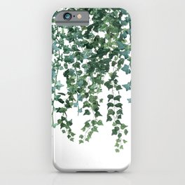 Ivy Watercolor iPhone Case