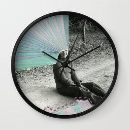 Rainbows Wall Clock