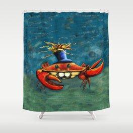 Crabynni Shower Curtain