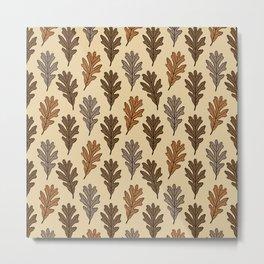 The Oak Leaves Metal Print