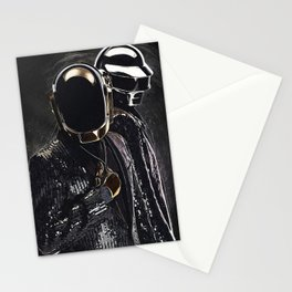 Daft Punk Stationery Cards