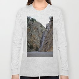 Gateway to the Uncompahgre Gorge - Around this Curve is a Frightening Road Long Sleeve T-shirt