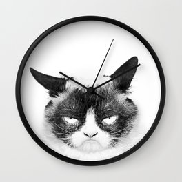 Monday Morning Wall Clock