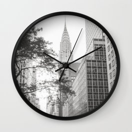 The Chrysler Building New York City Wall Clock