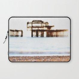 West Pier Ruins Laptop Sleeve
