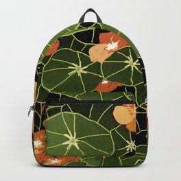 Tropaeolum flowers Backpack